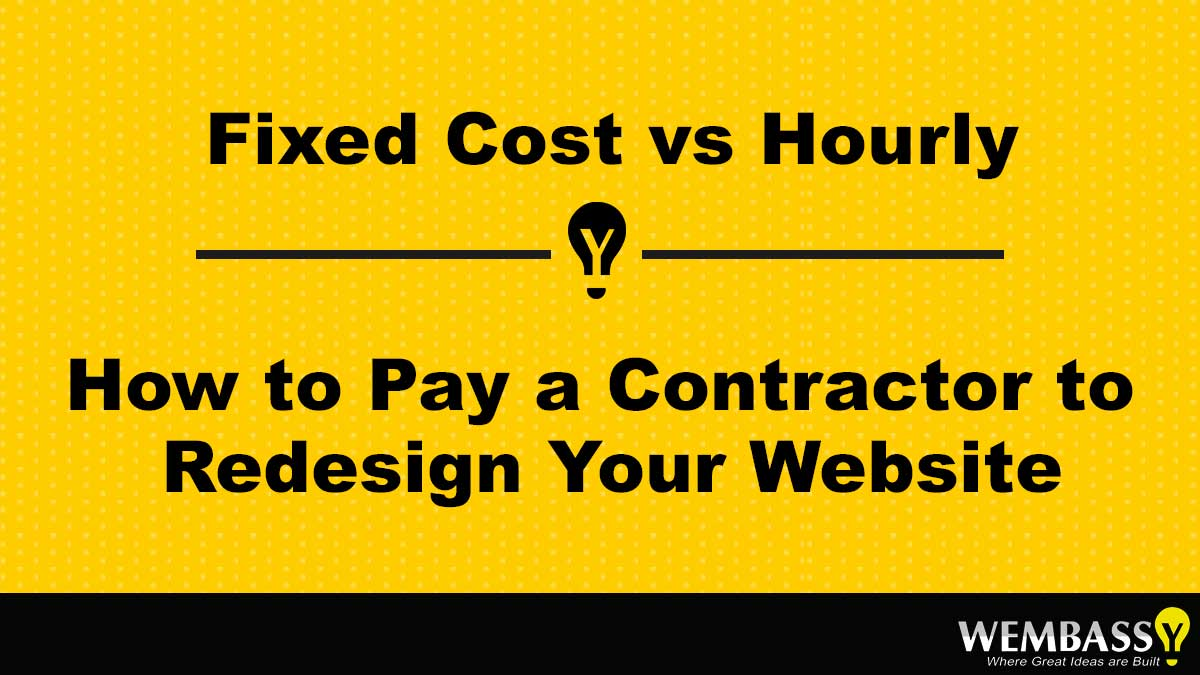 Fixed Cost vs Hourly