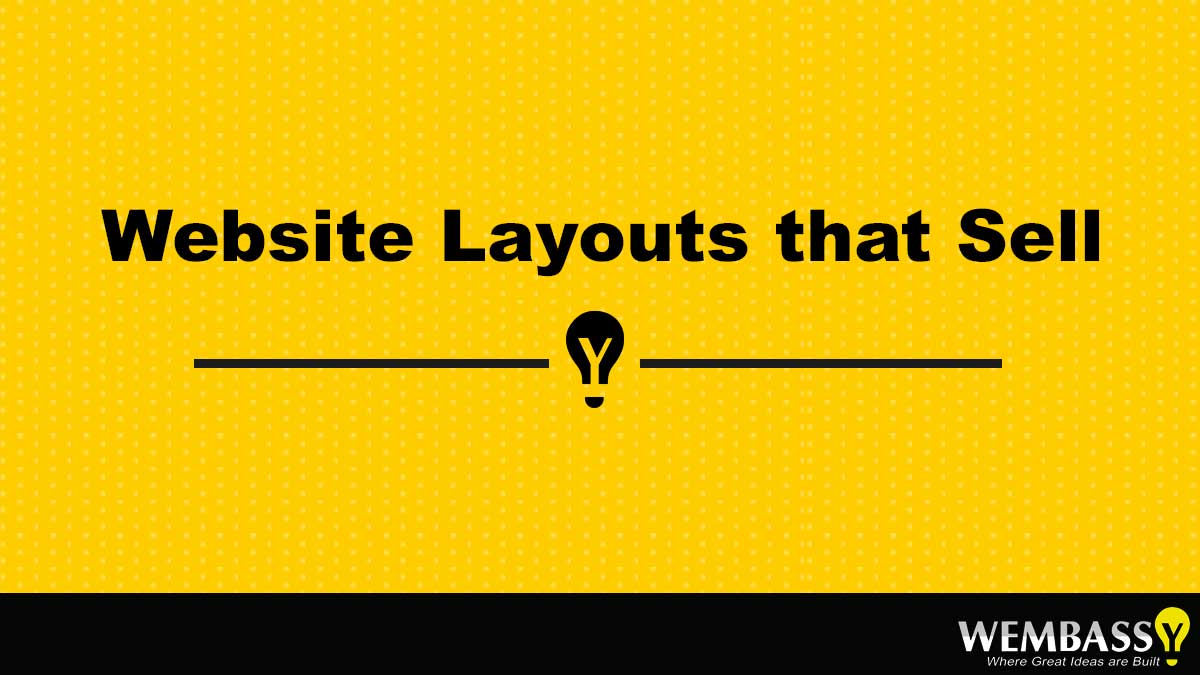 Website Layouts that Sell