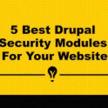 Five Best Drupal Security Modules For Your Website